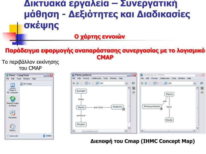 Δικτυακά εργαλεία – Συνεργατική μάθηση - Δεξιότητες και Διαδικασίες σκέψης
