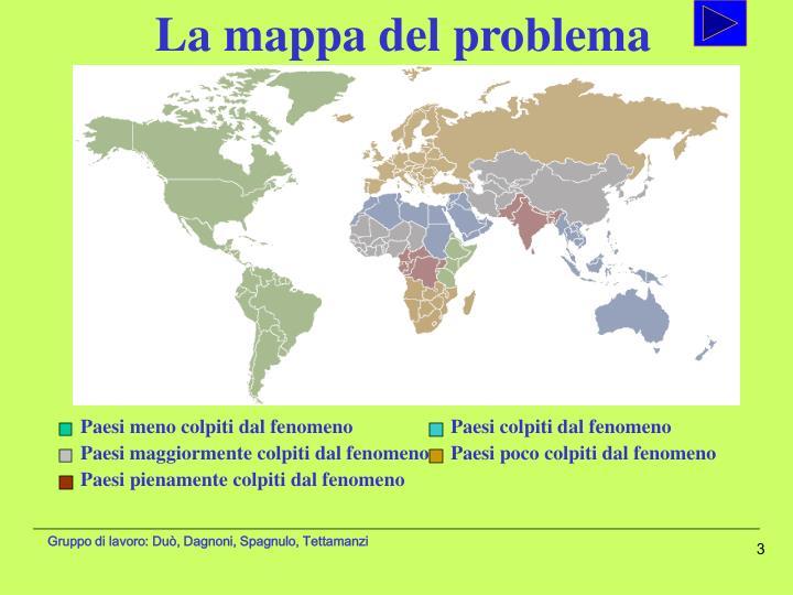 La mappa del problema