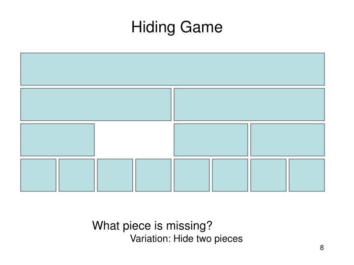 Hiding Game