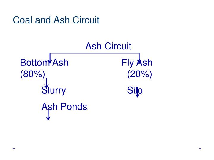 Coal and Ash Circuit