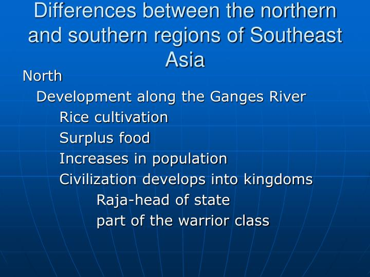 comparison between the south asia and Cultural differences between south africa and australia  kaffirs and convicts  both south africa and australia were once colonial countries under british rule both had gold rushes, and both had significant asian immigration however, south african identities are dominated by conceptions of race in australia, social policy has worked to.