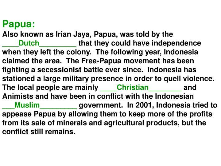 Papua: