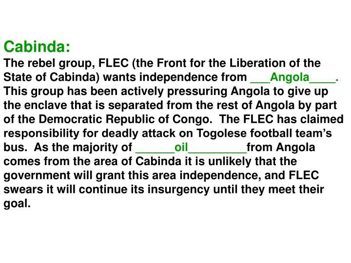 Cabinda: