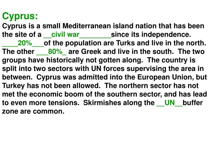 Cyprus: