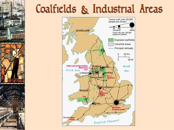 Coalfields & Industrial Areas