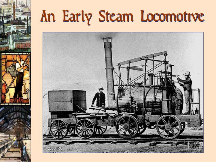 An Early Steam Locomotive