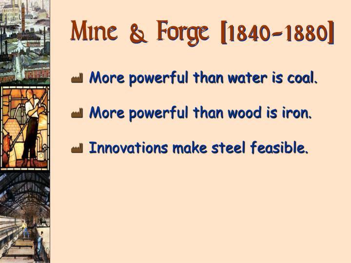 Mine & Forge [1840-1880]
