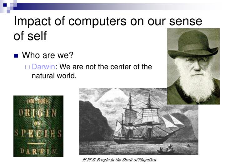 Impact of computers on our sense of self