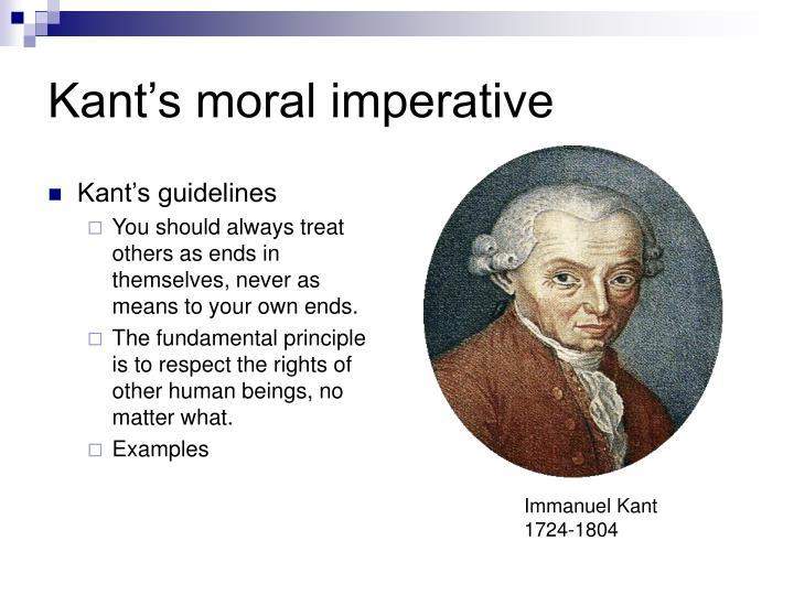 Kant's moral imperative