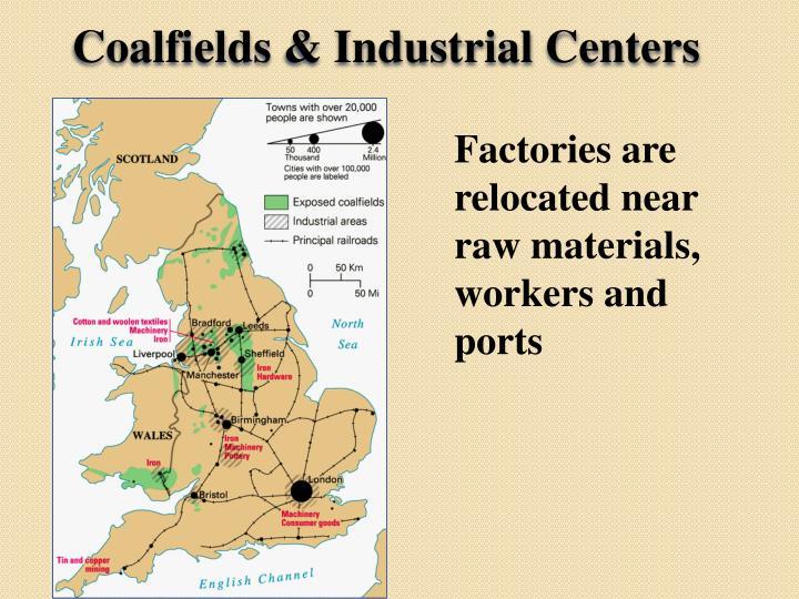 Coalfields & Industrial Centers