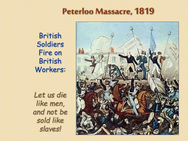 Peterloo Massacre,