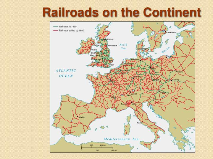 Railroads on the Continent