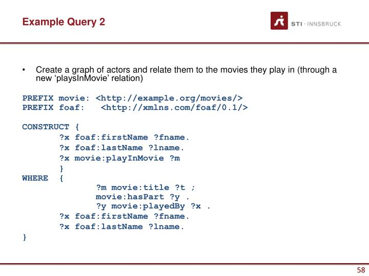 Example Query 2