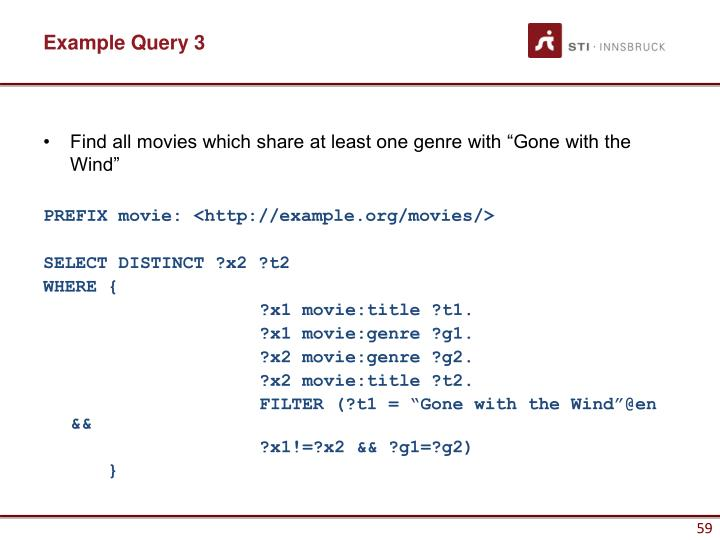 Example Query 3