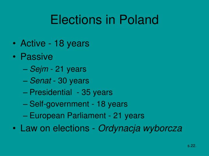 Elections in Poland