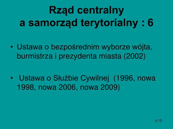 Rząd centralny