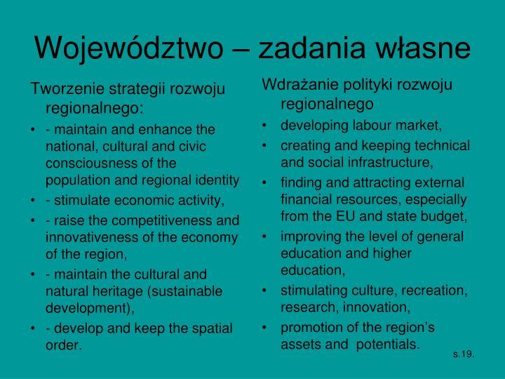 Tworzenie strategii rozwoju regionalnego