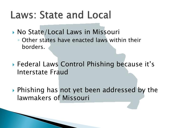 Laws: State and Local