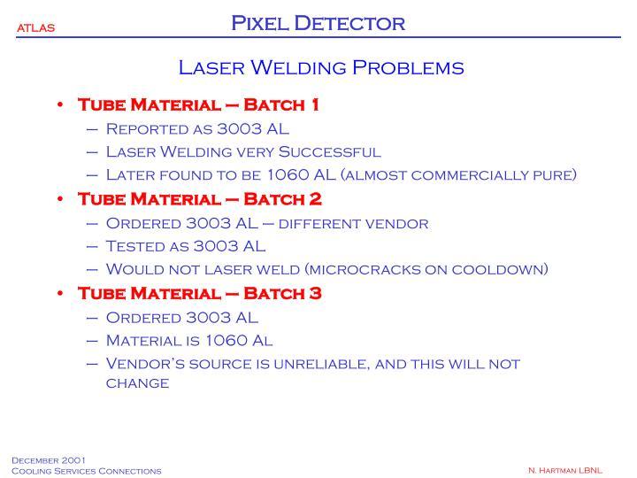 Laser Welding Problems