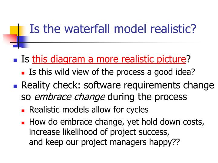Ppt multimedia software life cycle powerpoint for Waterfall model is not suitable for