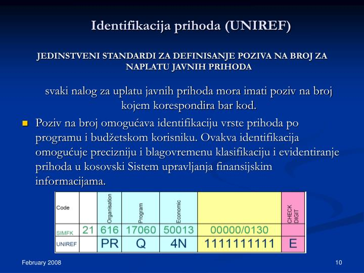 Identifikacija prihoda