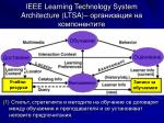 ieee learning technology system architecture ltsa1