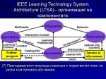 ieee learning technology system architecture ltsa7