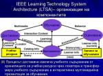 ieee learning technology system architecture ltsa8