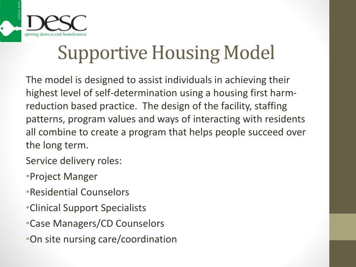 Supportive Housing Model