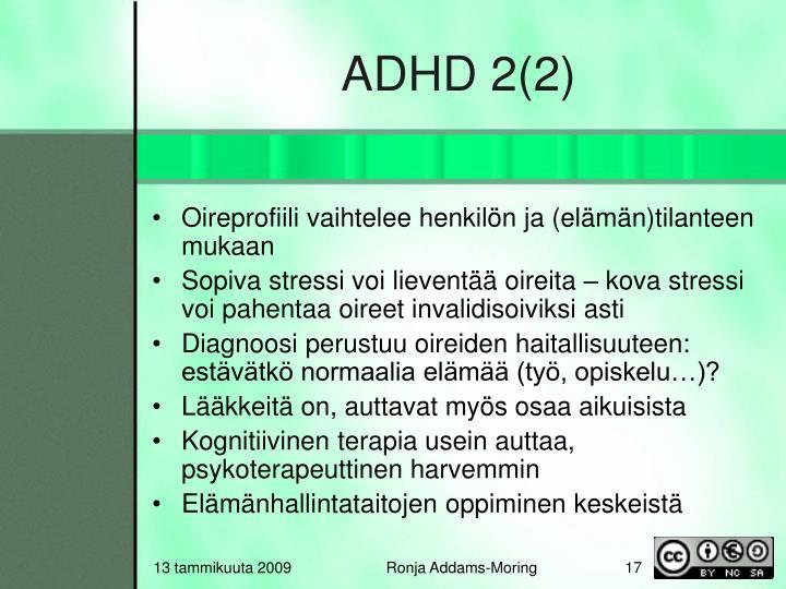 ADHD 2(2)