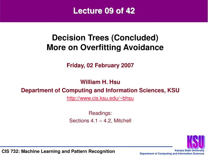 Lecture 09 of 42