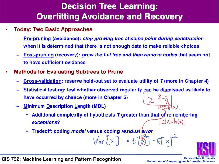 Decision Tree Learning: