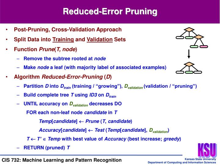 Reduced-Error Pruning
