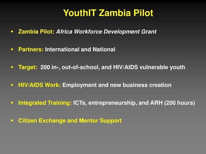 YouthIT Zambia Pilot