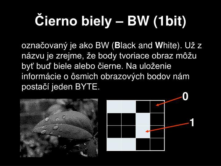 Čierno biely – BW