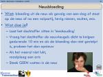 neusbloeding