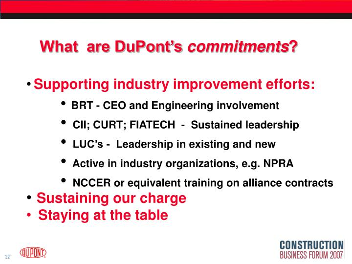 What  are DuPont's