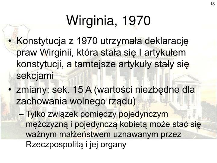 Wirginia, 1970