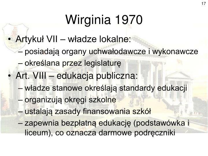 Wirginia 1970