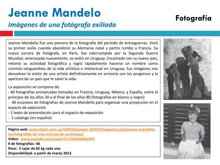 Jeanne Mandelo