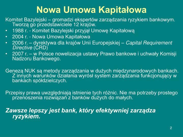 Nowa Umowa Kapitałowa