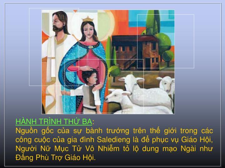 HNH TRNH TH BA