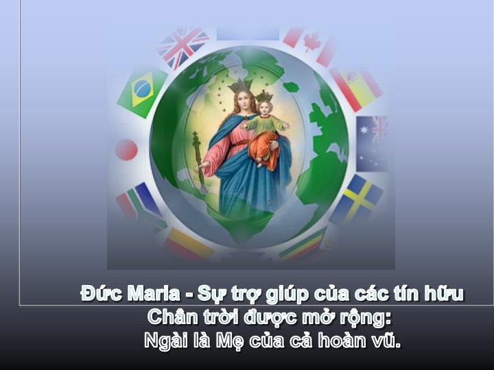 c Maria - S tr gip ca cc tn hu