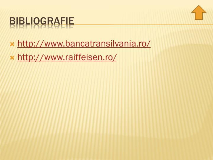 http://www.bancatransilvania.ro/