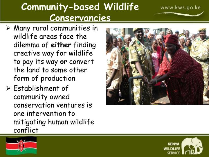 Many rural communities in wildlife areas face the dilemma of
