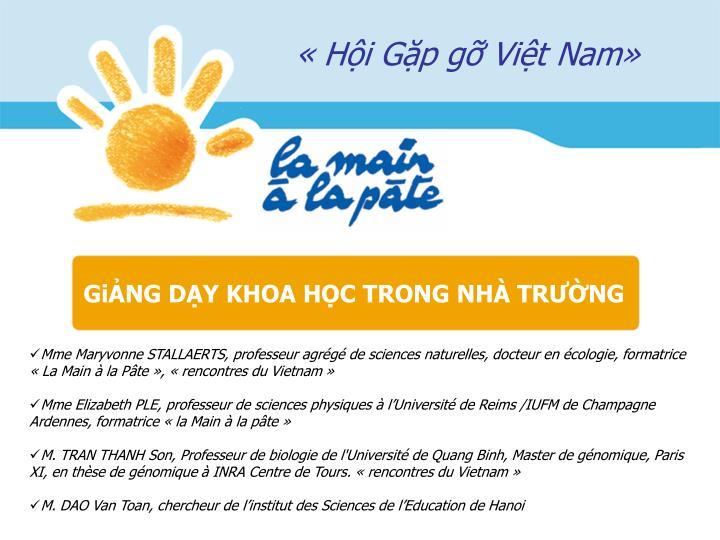 «Hội Gặp gỡ Việt Nam»