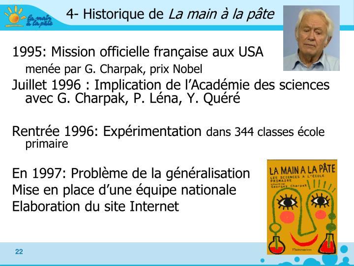 4- Historique de