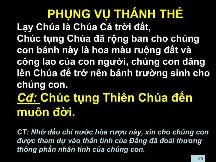 PHNG V THNH TH