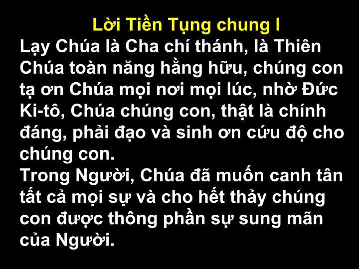 Li Tin Tng chung I