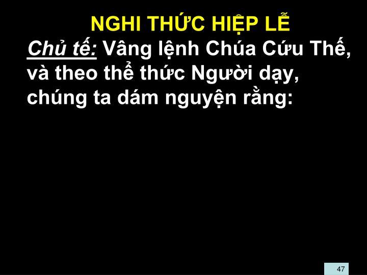 NGHI THC HIP L